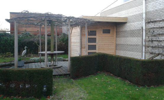 tuinhuizen met plat dak